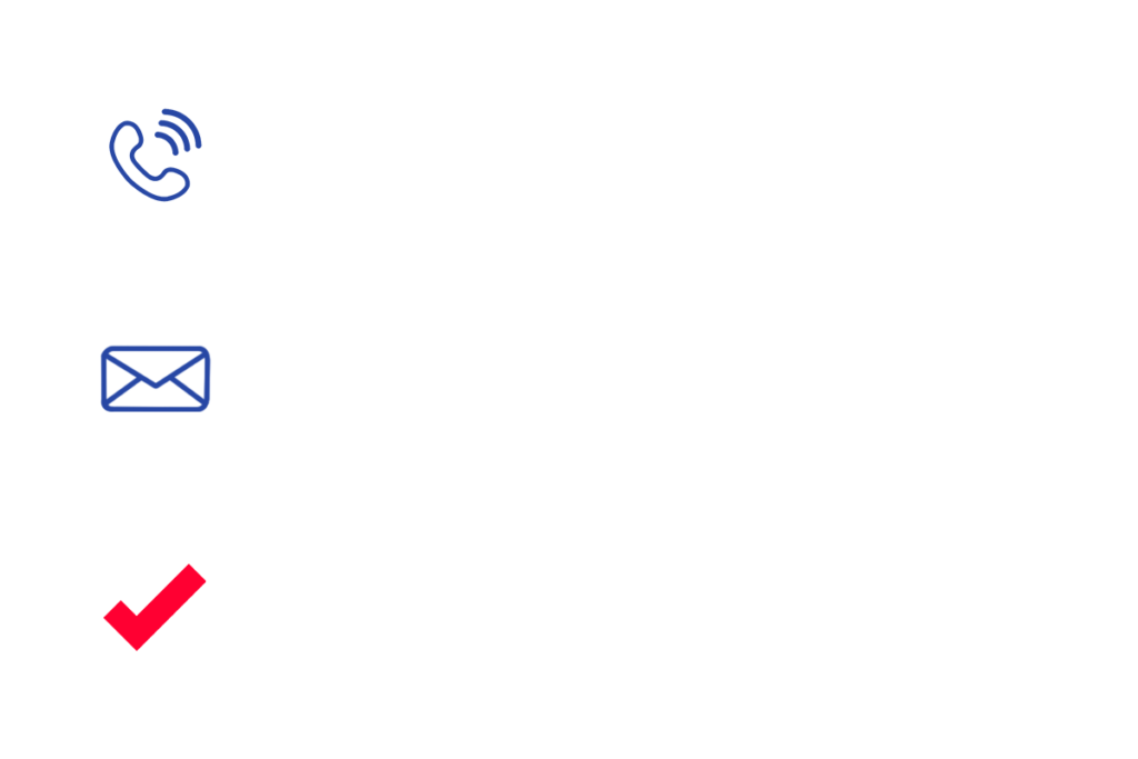 Phone calls, personalized letters, plan to vote